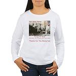 Thanks W Women's Long Sleeve T-Shirt