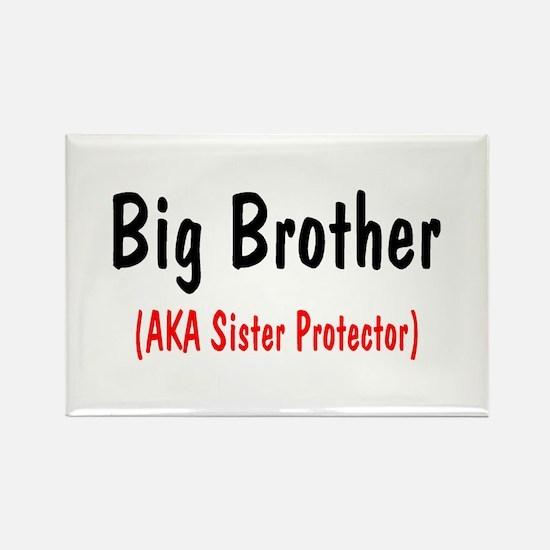 Big Brother (AKA Sister Protector) Rectangle Magne