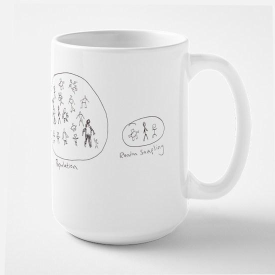 Random Sampling Large Mug