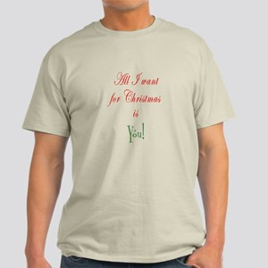 Christmas Marriage Proposal Men's T-Shirt