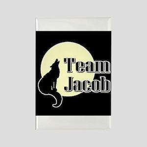 Team Jacob Rectangle Magnet