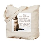 Cats and Heaven Tote Bag