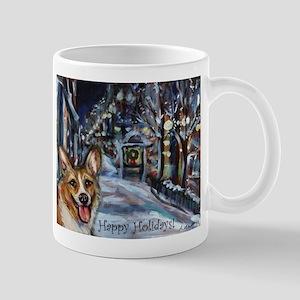 Welsh Corgi Christmas Mug