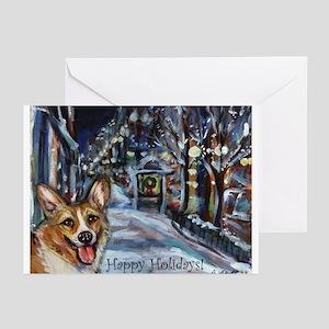 Welsh Corgi Christmas Greeting Cards (Pk of 20)