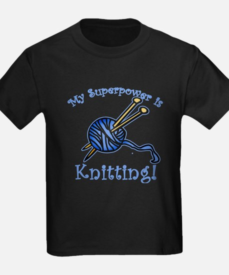 My Superpower is Knitting T
