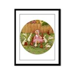 BYE BABY BUNTING Framed Panel Print