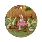 BYE BABY BUNTING Ornament (Round)