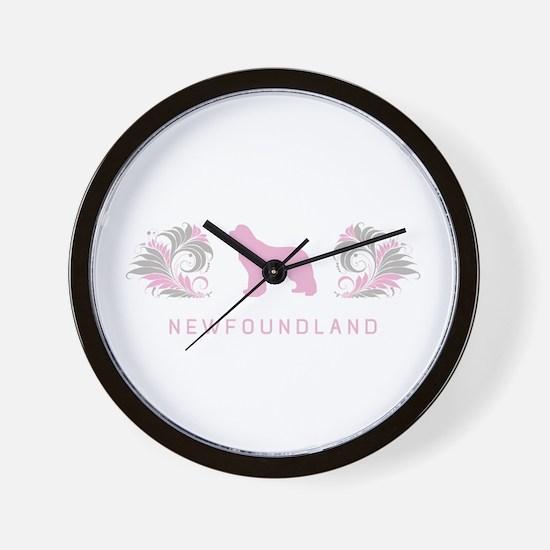 """""""Elegant"""" Newfoundland Wall Clock"""