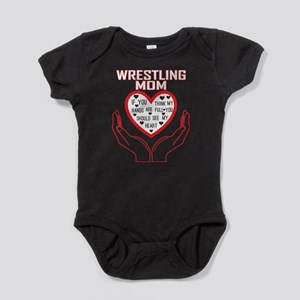 Wrestling Mom You Think My Hands Full Se Body Suit
