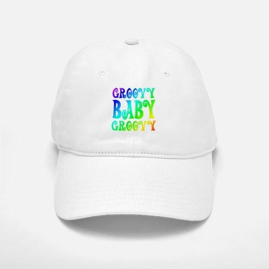Groovy Baby Groovy Baseball Baseball Cap