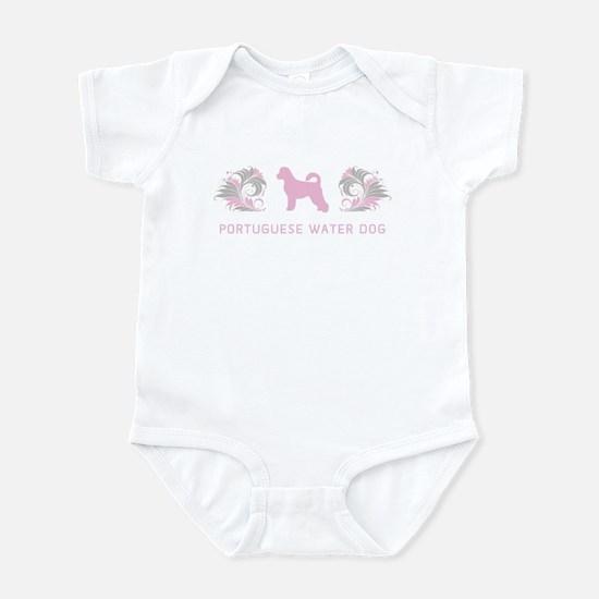 """""""Elegant"""" Portuguese Water Dog Infant Bodysuit"""