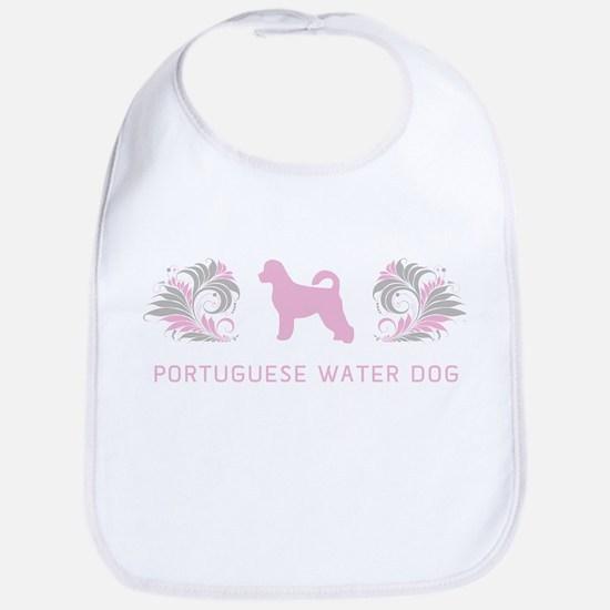 """Elegant"" Portuguese Water Dog Bib"