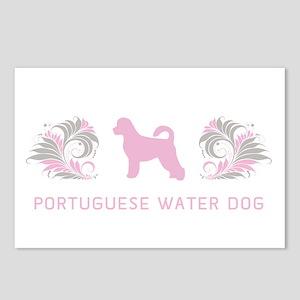 """Elegant"" Portuguese Water Dog Postcards (Package"