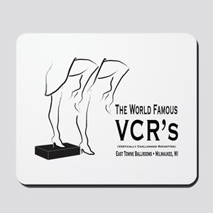 VCRs Box Mousepad
