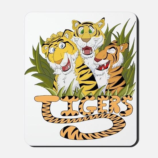 Toon Tiger Team Mousepad