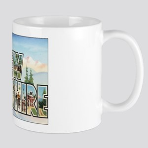 New Hampshire Postcart Mug
