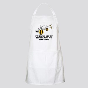 Funny slogan boo Bees BBQ Apron