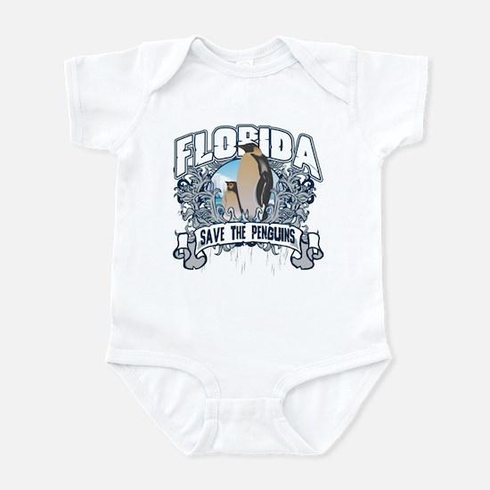 Save the Penguins Florida Infant Bodysuit