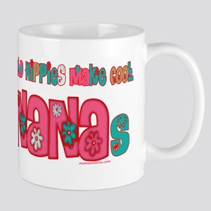 Old Hippie Nana Mug