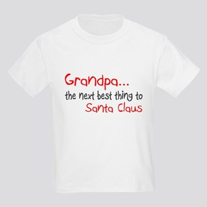Grandpa, The Next Best Thing To Santa Claus Kids L