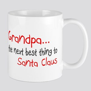 Grandpa, The Next Best Thing To Santa Claus Mug