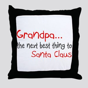 Grandpa, The Next Best Thing To Santa Claus Throw