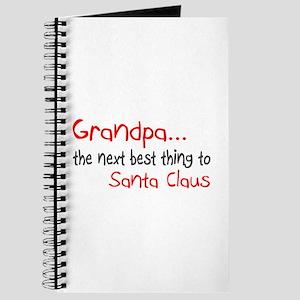 Grandpa, The Next Best Thing To Santa Claus Journa