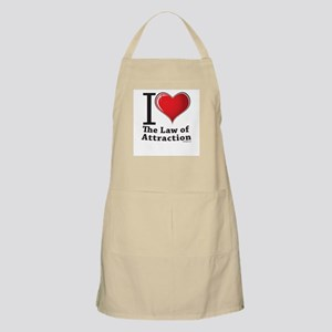Love the Law of Attraction BBQ Apron