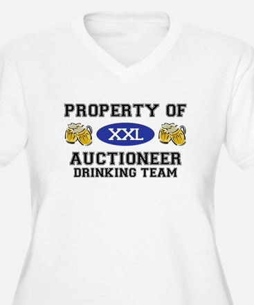 Property of Auctioneer Drinking Team T-Shirt