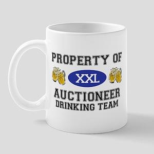 Property of Auctioneer Drinking Team Mug