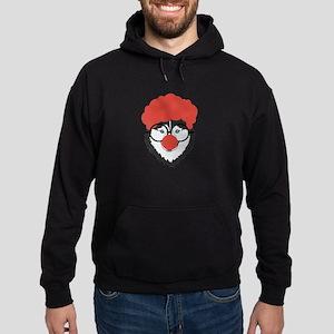 Alaskan Husky Dog Clown Face Halloween Sweatshirt