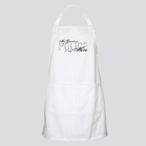 My Grandson is My Hero - POLICE BBQ Apron