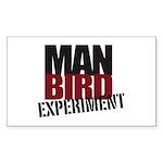 Manbirdio Sticker (Rectangle 50 pk) BONUS!