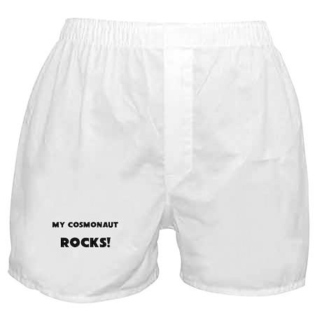 MY Cosmonaut ROCKS! Boxer Shorts