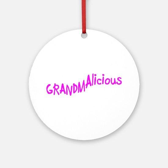 GRAMDAlicious Ornament (Round)