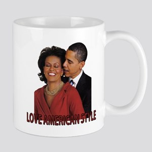 Obama's Love American Style Small Mug