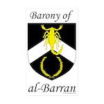 al-Barran Device Rectangle Sticker 50 pk)
