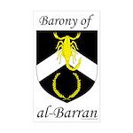 al-Barran Device Rectangle Sticker
