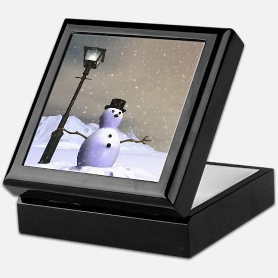 Snow Man 2 Keepsake Box