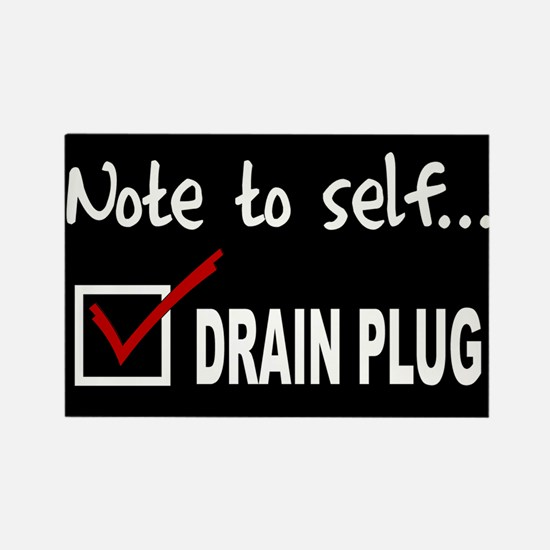 NOTE TO SELF... CHECK DRAIN PLUG - RCT. MGT