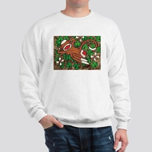Ivy Sock Monkey Sweatshirt