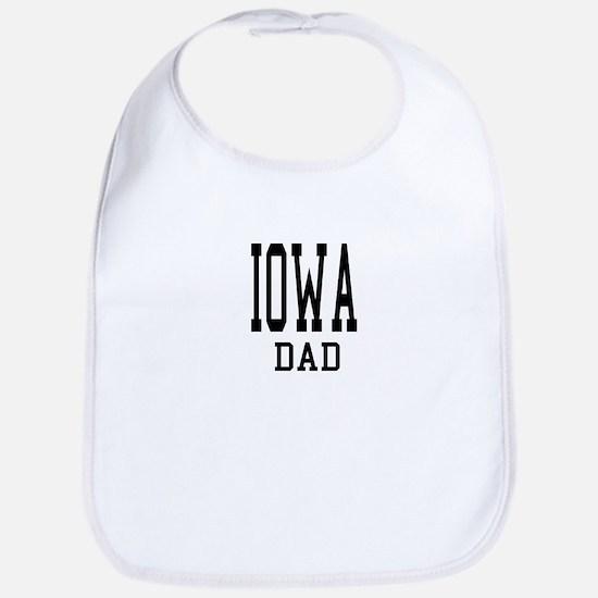 Iowa Dad Bib