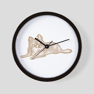 Chihuahua (sketch) Wall Clock