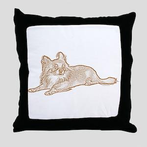 Chihuahua (sketch) Throw Pillow