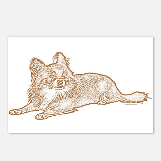 Chihuahua (sketch) Postcards (Package of 8)