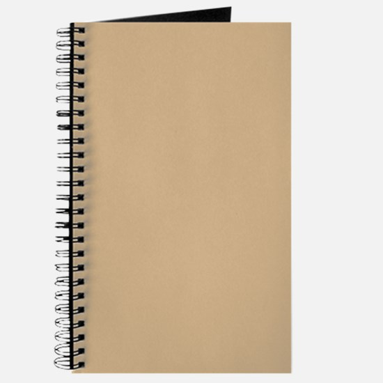 Tan Color Journal/Notebook