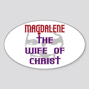 Mary Magdalene Oval Sticker