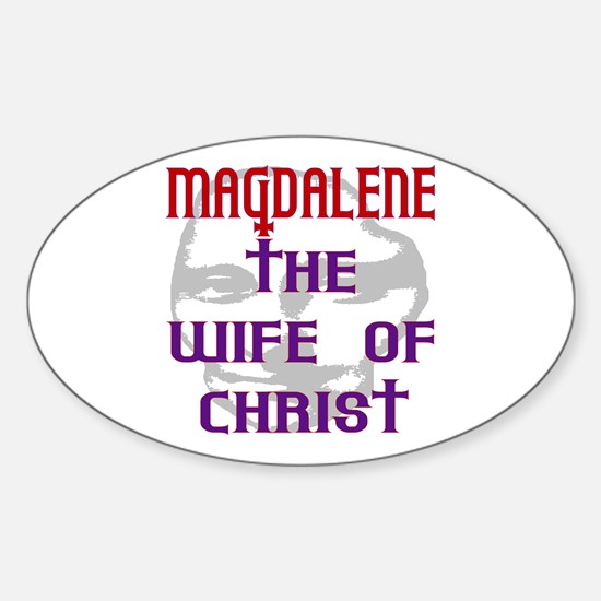 Mary Magdalene Oval Decal