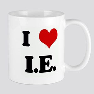 I Love I.E. Mug