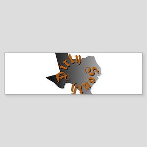 Dirty South Circle 3 Bumper Sticker (10 pk)
